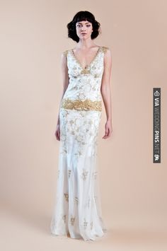 Claire Pettibone Spring 2013 Bridal | CHECK OUT MORE IDEAS AT WEDDINGPINS.NET | #bridesmaids