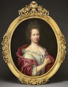 Marie Musy, femme d'Antoine de Bouffier, 1679 by Jean GUYNIER (1630-1707)