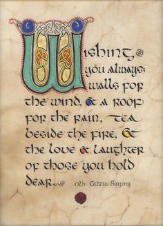 Old Irish Sayings | Old Celtic Saying / Artist: Kevin Dillon | Irish/Scot