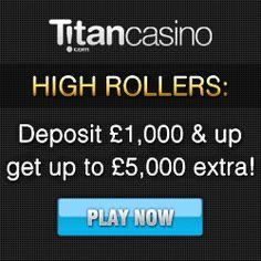 Exhilarating First Deposit Bonus offered by Titan Casino