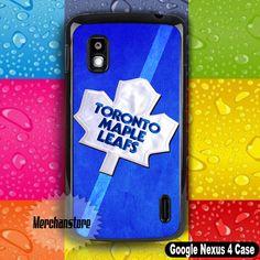 Toronto Maple Leafs NHL Logo Google Nexus 4 Case