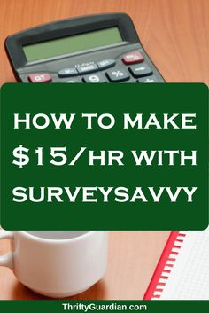 Finally - a survey site that pays! Work from home and make extra cash online with SurveySavvy. Click through to learn how I've made over $15+/hr! A SurveySavvy review.