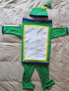 Bot inspired costume from team umizoomi by Hamnascreations on Etsy