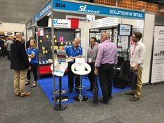 Our fabulous team members discussing our great products and prices at the Metcash Expo Free Shows, Retail, Products, Sleeve, Gadget, Retail Merchandising