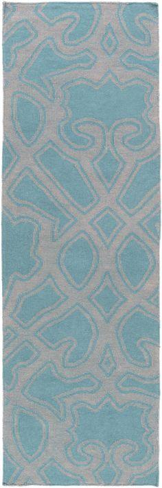 Paddington Gray/Teal Area Rug