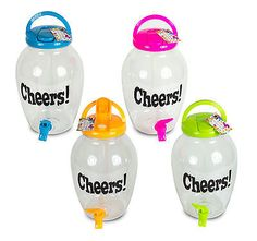 Plastic screw top #drink #water dispenser jar beverage #bottle w/tap party outdoo,  View more on the LINK: http://www.zeppy.io/product/gb/2/162192548476/