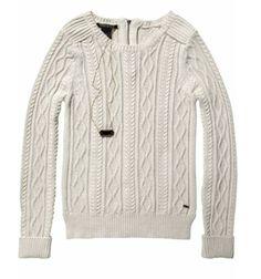 Maison Scotch cable knit sweater