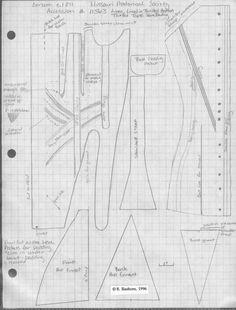 Corset with bust padding pockets c.1811, Missouri Historical Society