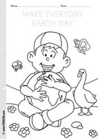 """""""Make Everyday Earth Day"""" - free coloring sheet Earth Day Worksheets, Printable Preschool Worksheets, Earth Day Activities, Teaching Activities, Teaching Ideas, Earth Day Coloring Pages, School Coloring Pages, Free Coloring Sheets, Preschool Art"""