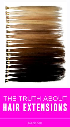 Hair Extensions 101: 7 things to know, ask, and consider before getting them! (via @byrdiebeauty) // #hair #tips
