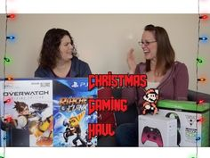 Video Game Christmas Haul 2016 - Jess got a PS4 Slim!! | TheGebs24