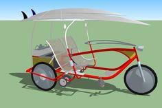 Design your Sociable Tandem Cargo Trike