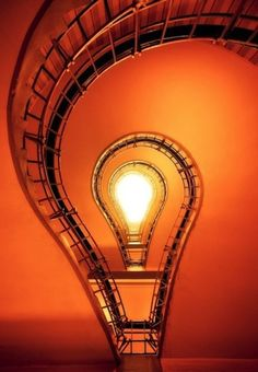 Staircase,lightbulb or hot air balloon?
