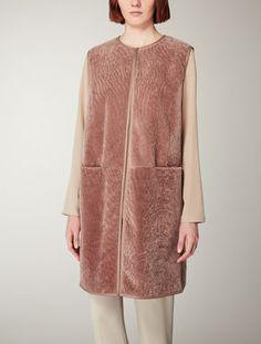fur front coat