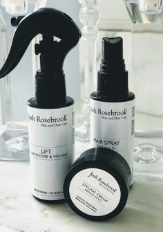Safer ingredients in these hair care products by Josh Rosebrook have replaced my traditional hair spray, mousse and styling paste.