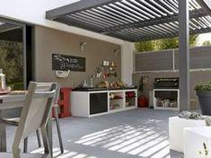 10 different terrace decoration ideas Garden Canopy, Terrace Garden, Indoor Outdoor Living, Outdoor Spaces, Outdoor Decor, Ideas Terraza, Barbecue Garden, Pergola Shade, Pergola Designs