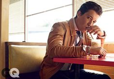 The GQ Spring Trend Report: 2015 Miles Teller Jacket by Massimo Dutti 22 Jump Street, Miles Teller Movies, Best Leather Jackets, Band Of Outsiders, Gq Magazine, Young Actors, New Poster, Spring Trends, Leather Men