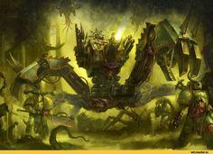 Warhammer 40000,warhammer40000, warhammer40k, warhammer 40k, ваха, сорокотысячник,фэндомы,Mortarion,Primarchs,Chaos Space Marine,Chaos (Wh 40000),Death Guard,Nurgle