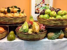 Traditional Sicilian marzipan for All Souls Day, Nov. 2nd. Photo courtesy of Bar La  Foresta,  Palermo, Sicily