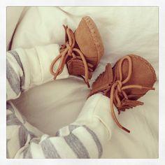 Nico's moccasins