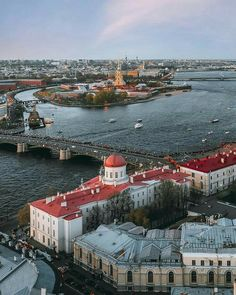 St. Petersburg Russia Best Places To Travel, Places To Visit, St Petersburg Russia, World Cities, Dream City, Eastern Europe, World Heritage Sites, Aerial View, Vacation Trips
