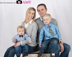 Family Picture, studio photography