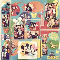 Projeto álbum de viagem Disney