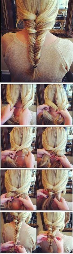 Plusieurs tutos de coiffure facile