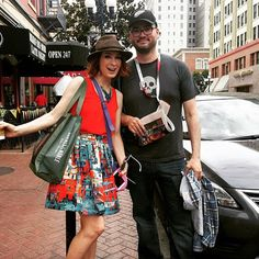 First #SDCC street encounter: Supernatural Charlie writer Robbie Thompson! by feliciaday