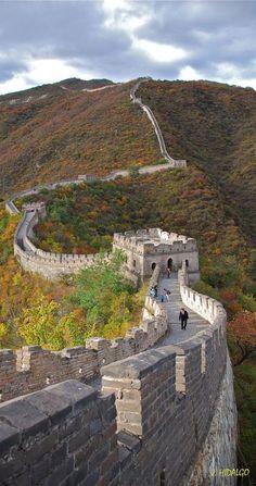 The Great Wall, Beijing, China (by Juan Hidalgo)