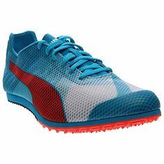 Special Offers - Cheap PUMA Mens Evospeed Star V4 Sneaker White Atomic  Blue Red 18556a1a1