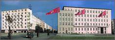 Gdynia under nazi occupation Concrete Patios, Poland, Multi Story Building, Louvre, City, Modern, Travel, Vintage, Fotografia