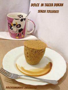Dolce in tazza Dukan Escalier senza tollerati ricetta light