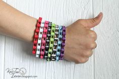 Repurposed Bike Chain Bracelets via Jump the Curb