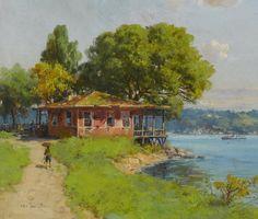Hoca Ali Rıza (Turkish, 1858-1939) Istanbul, 1919
