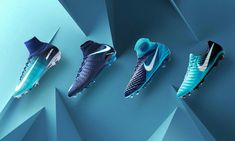 Nike today unveiled a streamlined double football boots collection, the 'Fire & Ice Pack'. Nike Soccer Shoes, Soccer Outfits, Nike Cleats, Soccer Boots, Cool Football Boots, Football Shoes, Football Cleats, Football Things, Tacos Nike