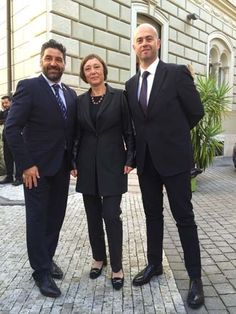 De Berardinis e Barcaroli ospiti dellAmbasciata della Repubblica Ceca in occasione della festa nazionale