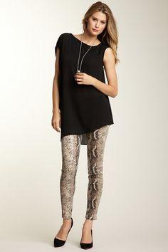 Sara Boo Sequin Animal Print Legging by Bottoms Under $45 on @HauteLook