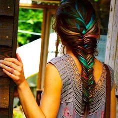 colored strands