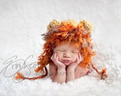 New Ideas For New Born Baby Photography : another cute hat