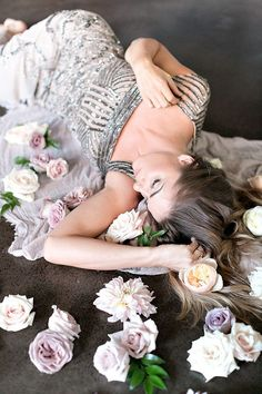 Bed of flowers   Photo by Lydia Photography