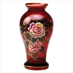 **WHAT A GORGEOUS VASE!!**  Image detail for -Victorian Rose decor items .