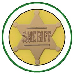 One day I will start to be a sheriff but when I finish with education