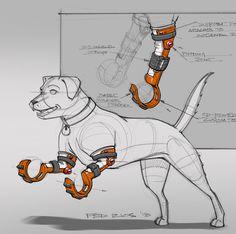 496 個讚好,4 則回應 - Instagram 上的 Fed Rios(@fedriosdesign):「 It's dog prosthetic Sunday! This is a super rugged model, for heavier, active dogs. . 079 | 365… 」