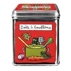 Boîte a bouillons de légumes - DLP - Valérie Nylin