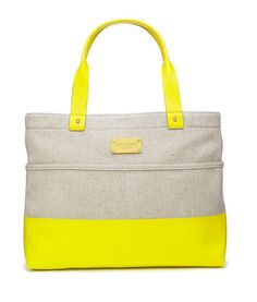 19 Sweet Picks From Kate Spade's Spring 2011 Lookbook: The Journal Newspaper Clutch, $125  : Shady Side Magazine Tote, $255