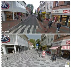 Stationsstraat, Sint-Niklaas, Belgium see more: http://www.urb-i.com/#!before-after/ceh8 google street view