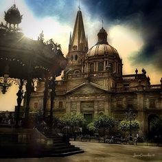 Guadalajara's cathedral. Most beautiful church my eyes have ever seen...