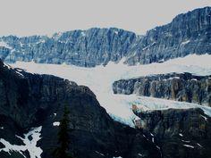 Glaciers in Alberta, Canada