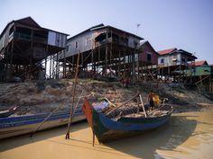 Tonle Sap - Durante a Estação Seca Siem Reap, Angkor, Tonle Sap, Outdoor Furniture, Outdoor Decor, Rainy Season, Species Of Birds, Cambodia, Temples